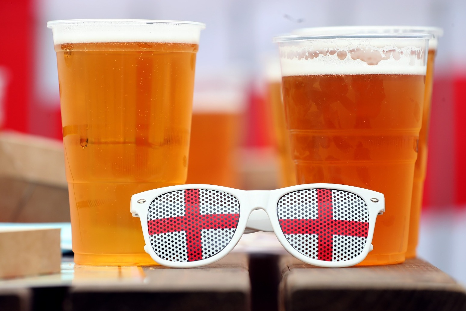 England fans expected to buy more than 50,000 pints a minute during match tonight