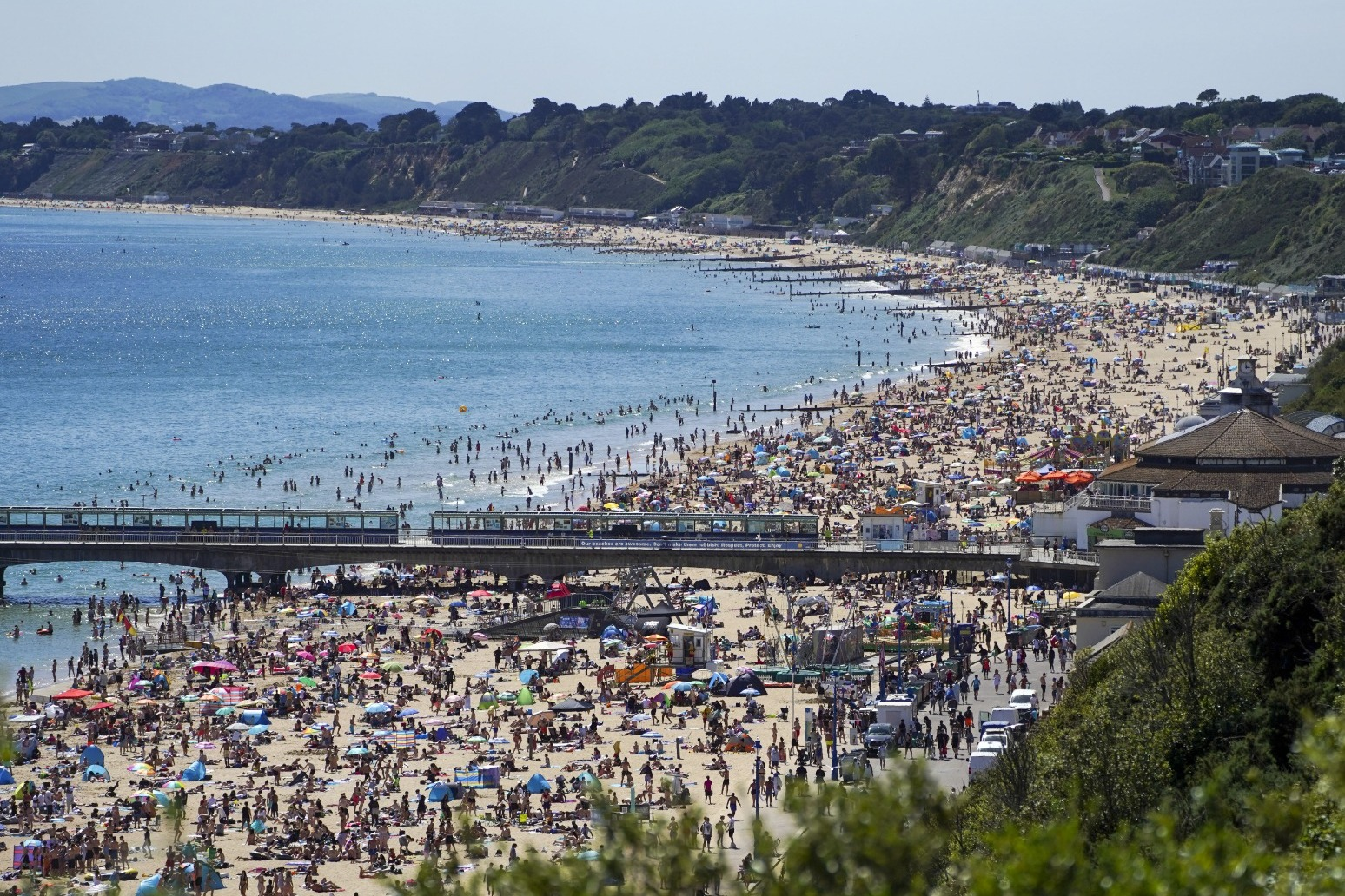 UK faces two more days of scorching weather before thunderstorms