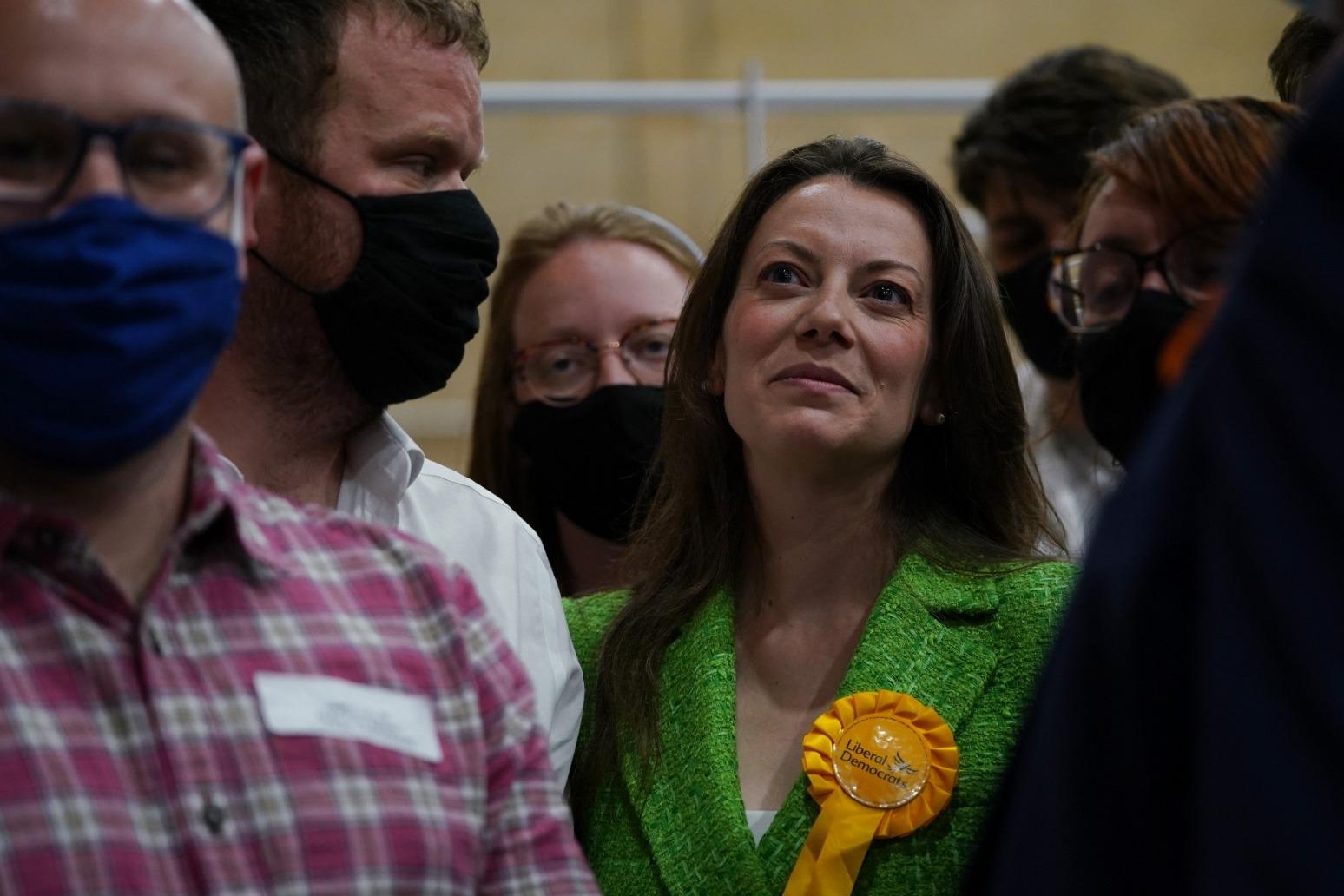 Chesham and Amersham 'shockwave' puts crack in Tory Blue Wall