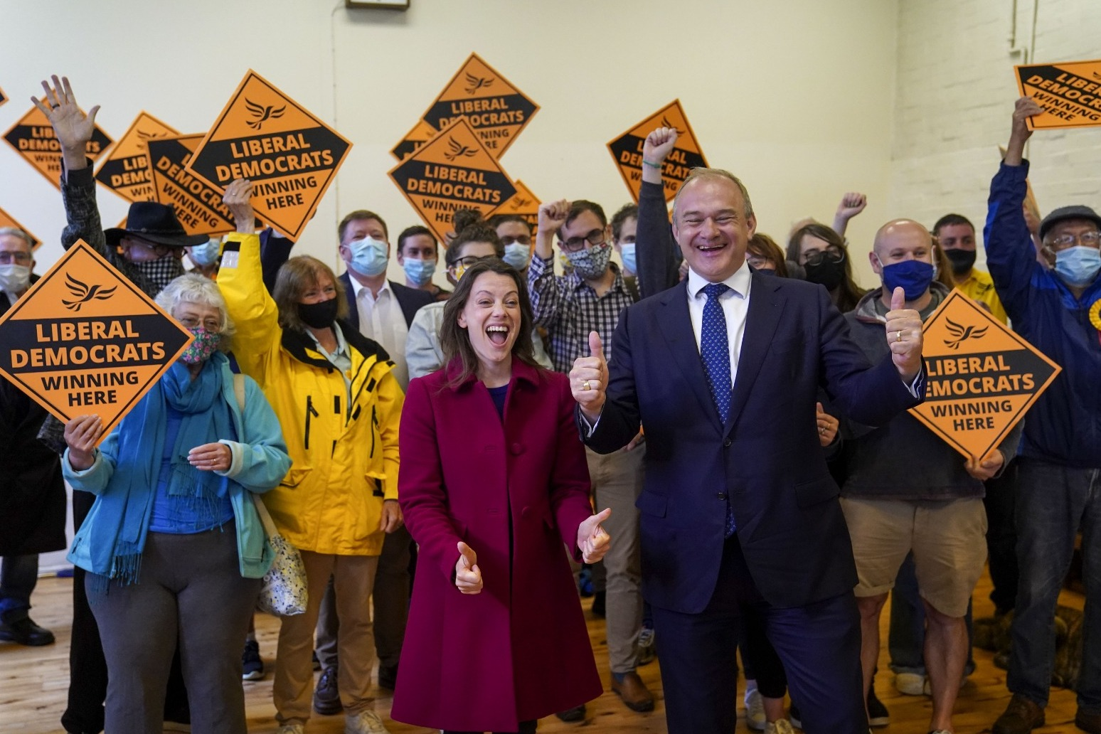Lib Dems tell Boris Johnson to scrap planning reforms after by-election upset