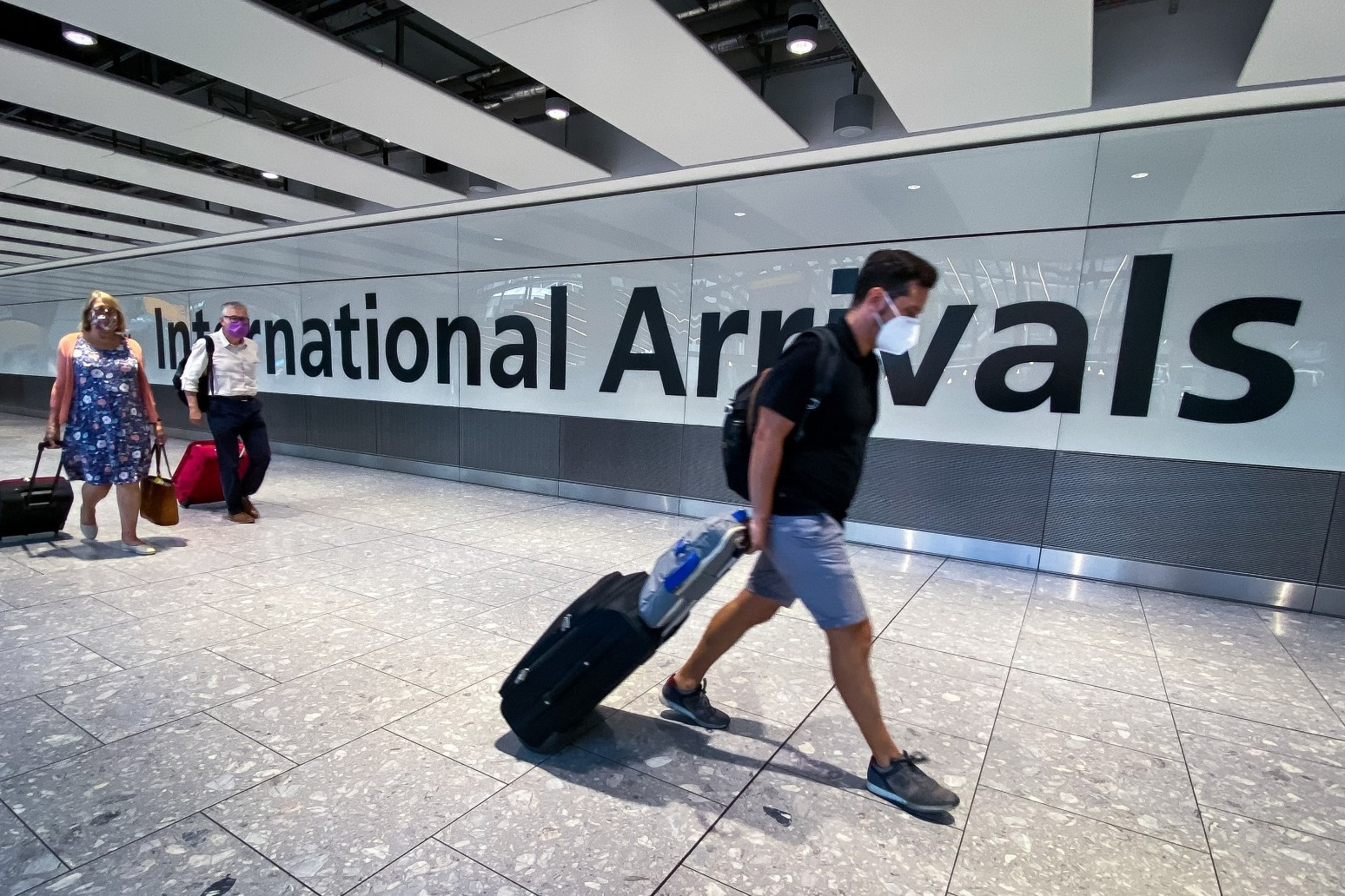 Heathrow passenger numbers remain almost 90% down on pre-pandemic levels