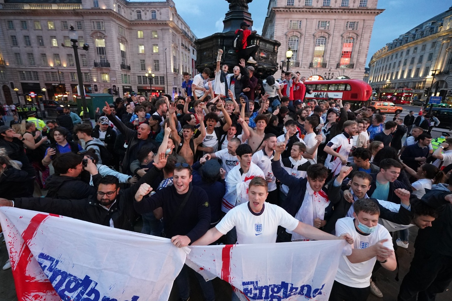 England fans being told NOT to travel to Rome