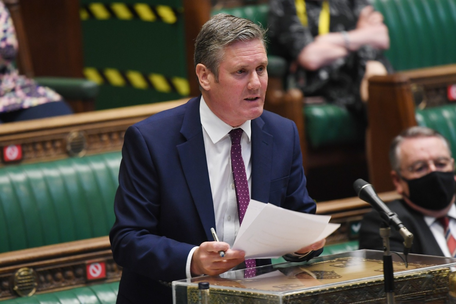 Starmer: Summer of chaos and confusion awaits under Johnson's unlock plans