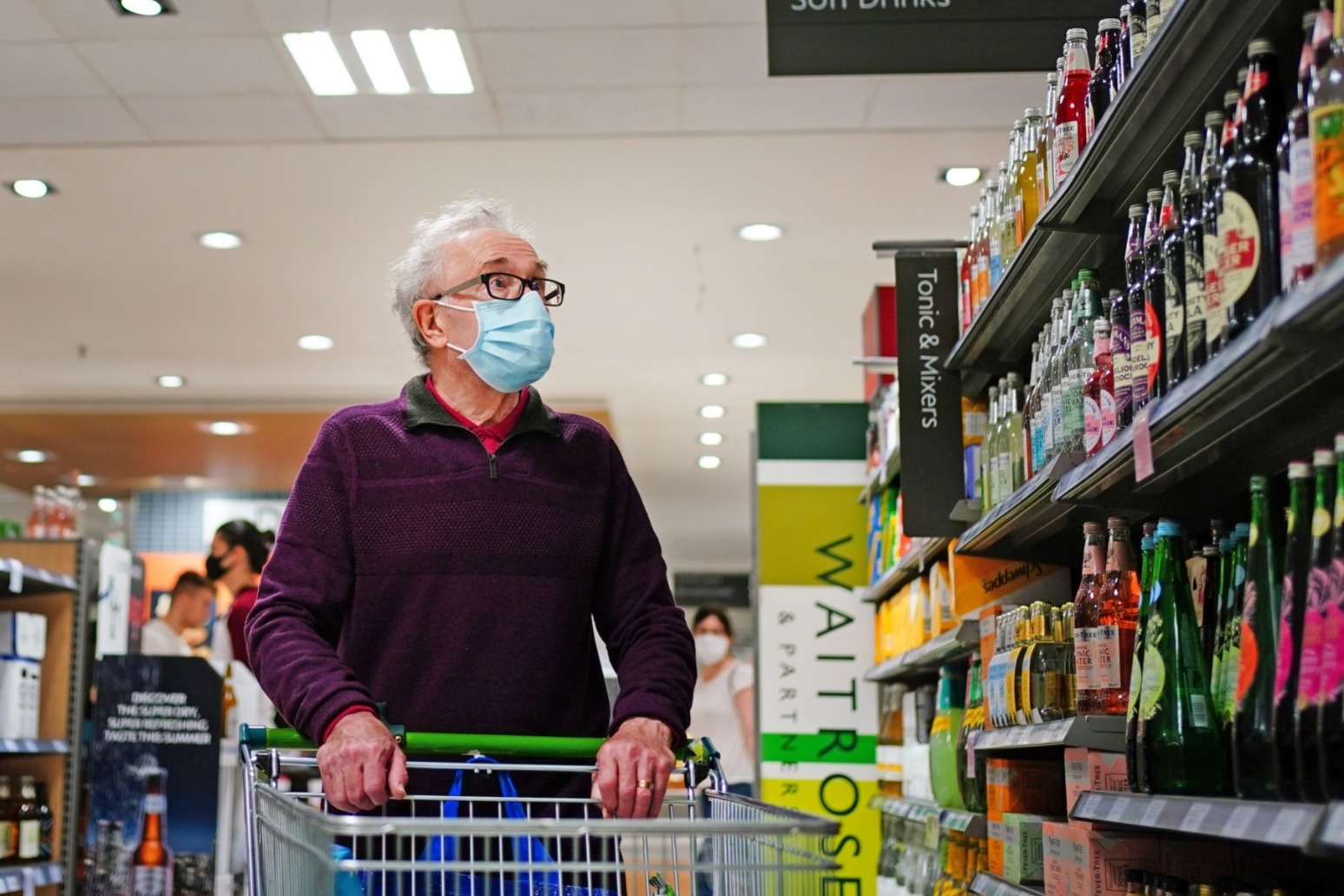 Supermarkets encourage customers to wear masks in shops after July 19