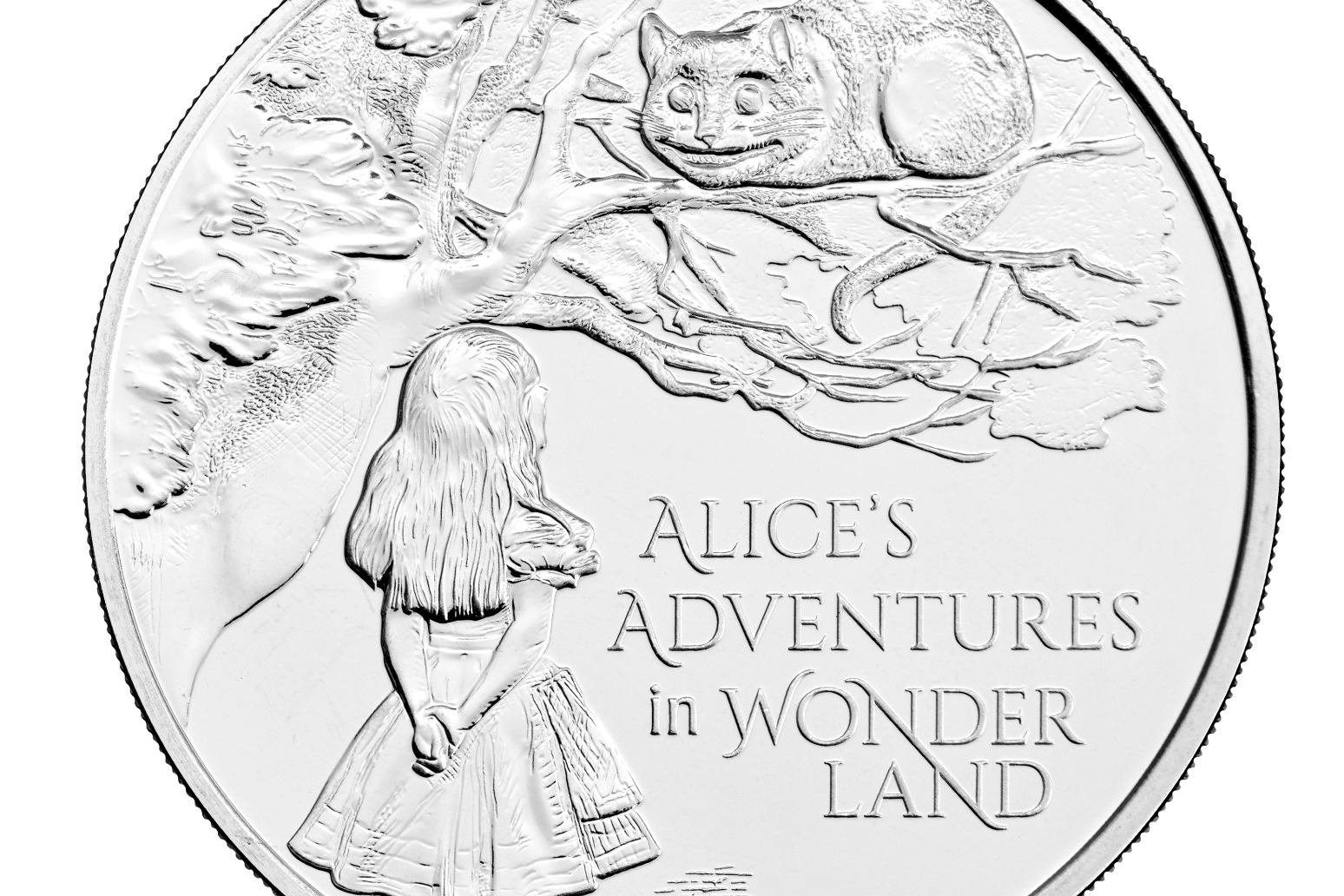 Alice in Wonderland coin released to mark 150 years since book's publication