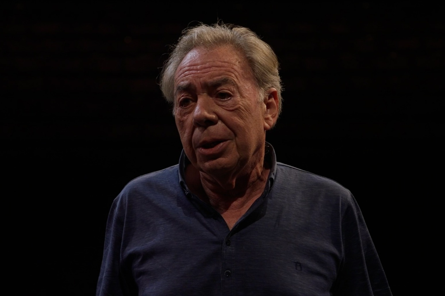 Andrew Lloyd Webber thanks St John Ambulance volunteers with Cinderella preview