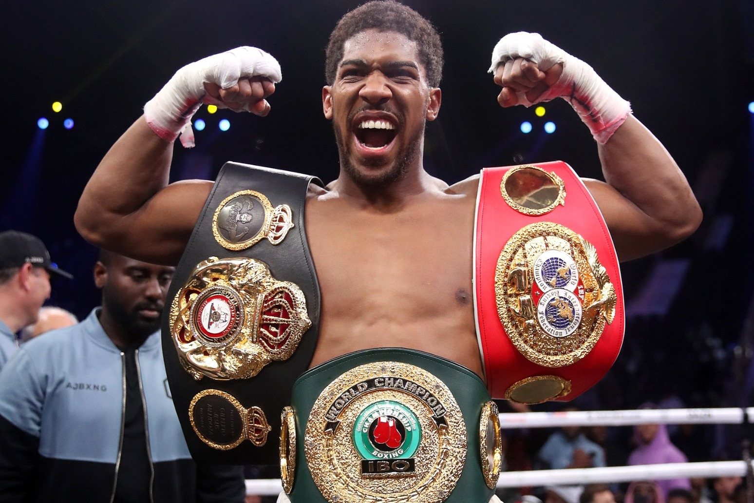 Joshua promises to do everything in his power to set up Fury fight