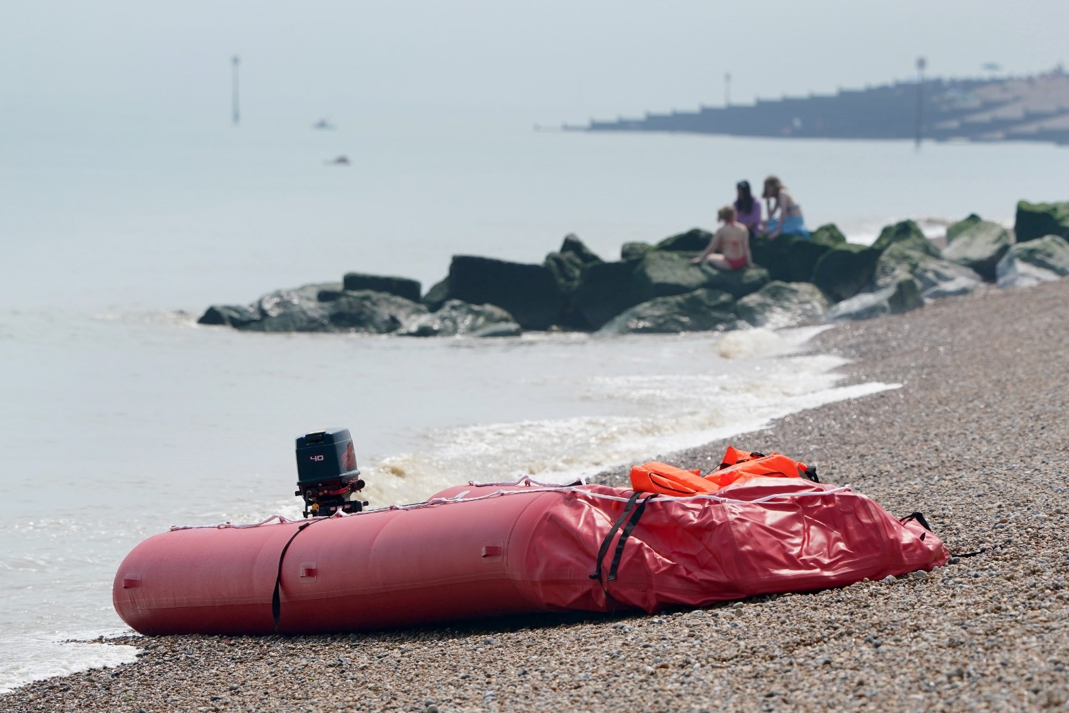Migrants intercepted as attempted English Channel crossings continue.