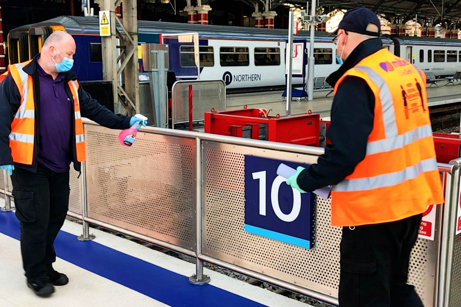 No traces of virus found in tests of railway stations and on trains