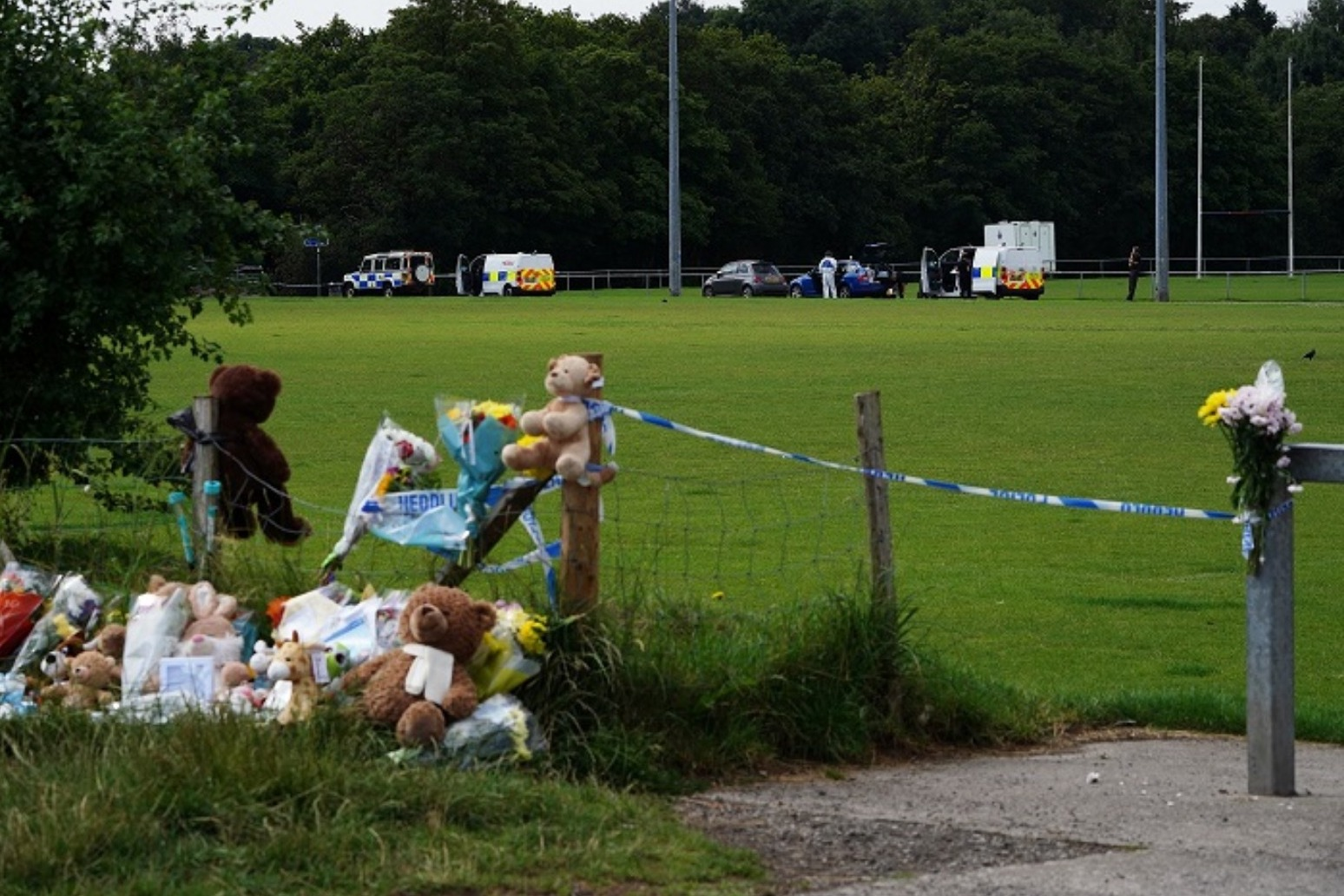 Two adults and a teenager charged over death of 5 year old boy in South Wales