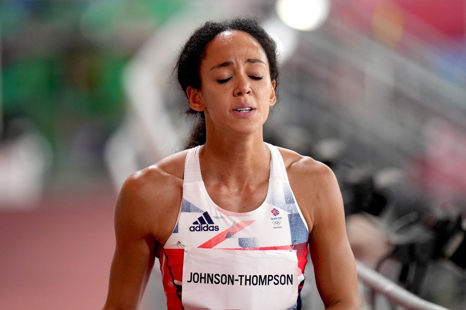 Katarina Johnson Thompson will take time to process her Tokyo heartbreak