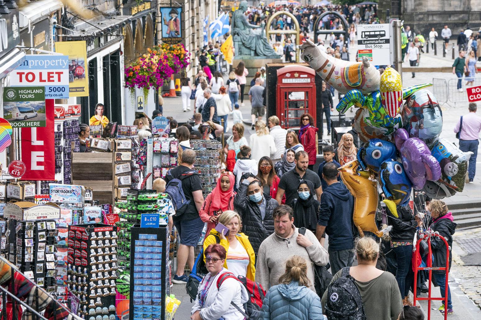 Edinburgh Festival Fringe returns after Covid cancellation
