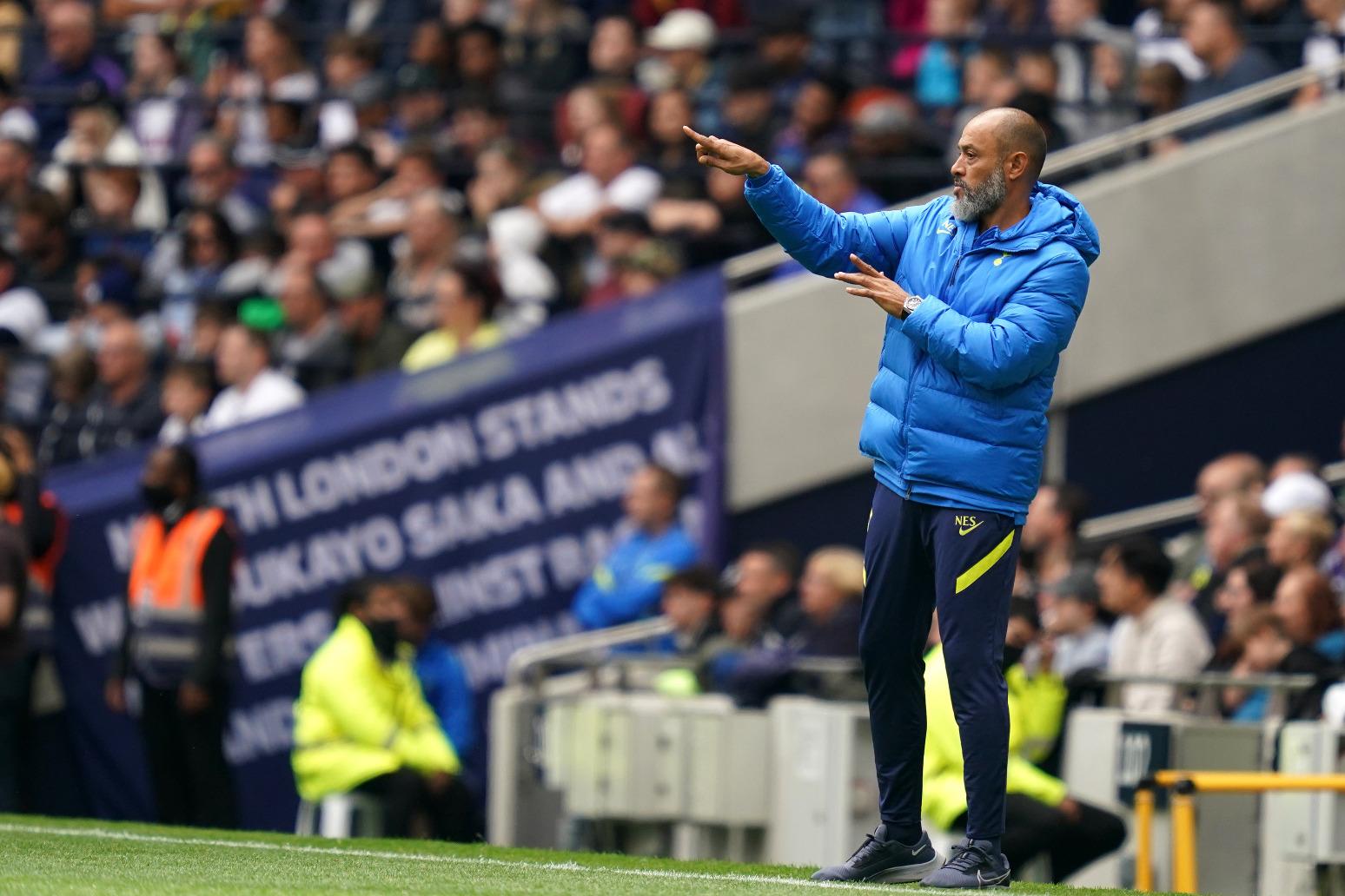 Nuno Espirito Santo plans Harry Kane chat following his Spurs return