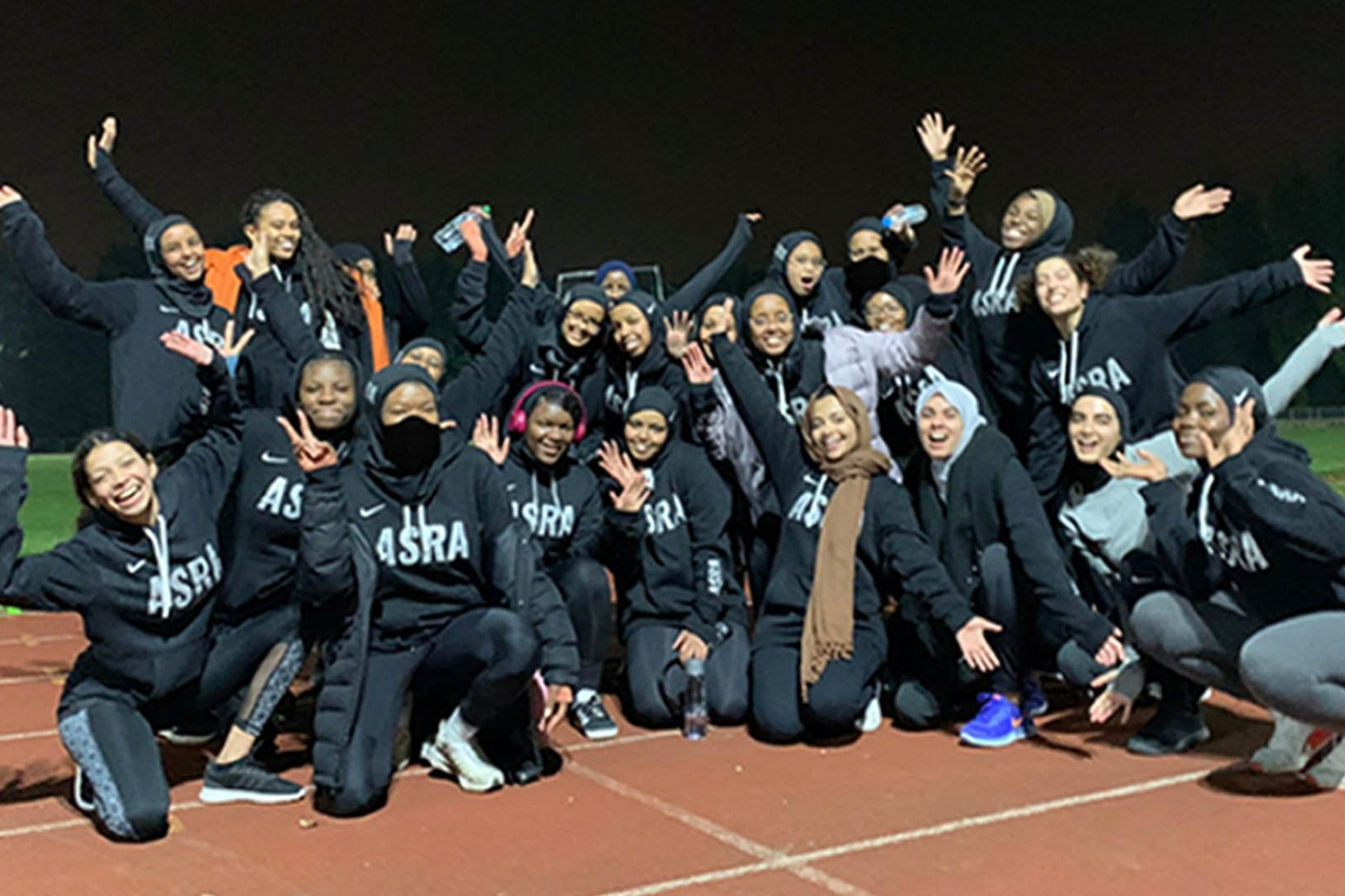 Student sets up running club so other Muslim women feel safe when exercising.