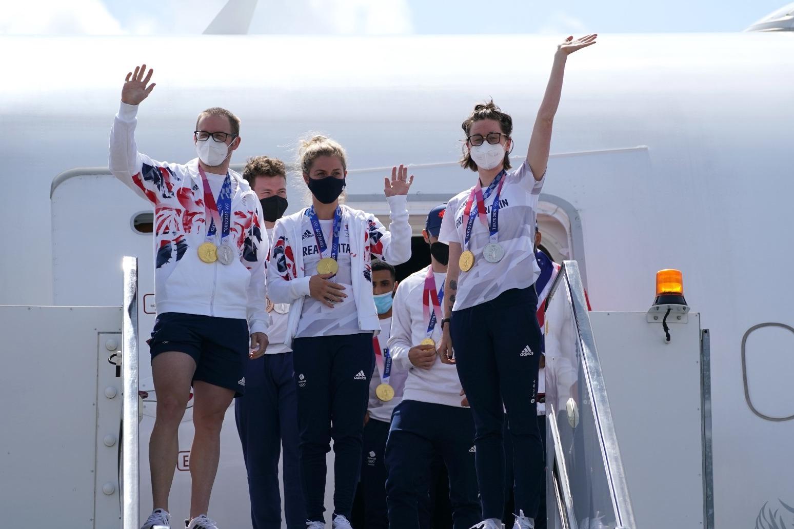 Queen sends 'warmest congratulations' to Team GB