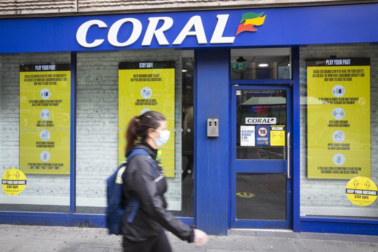 Ladbrokes owner enjoys surging profits as sporting events return