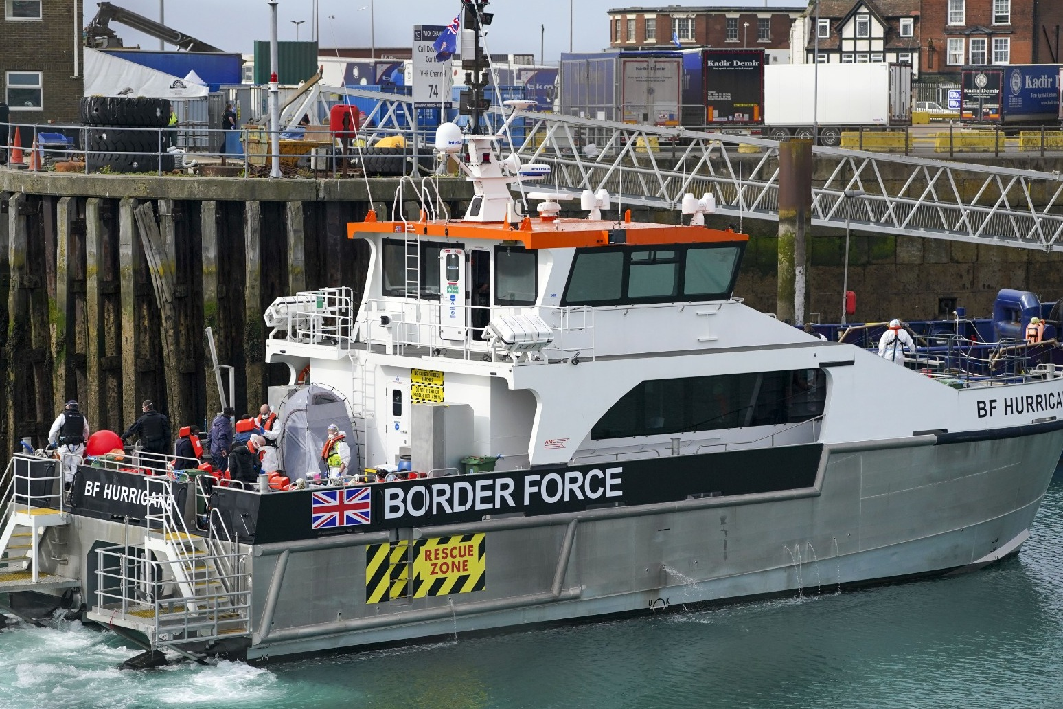 New daily English Channel crossing record