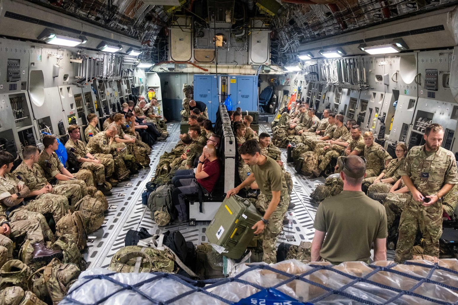 Operation to evacuate UK nationals from Afghanistan under way