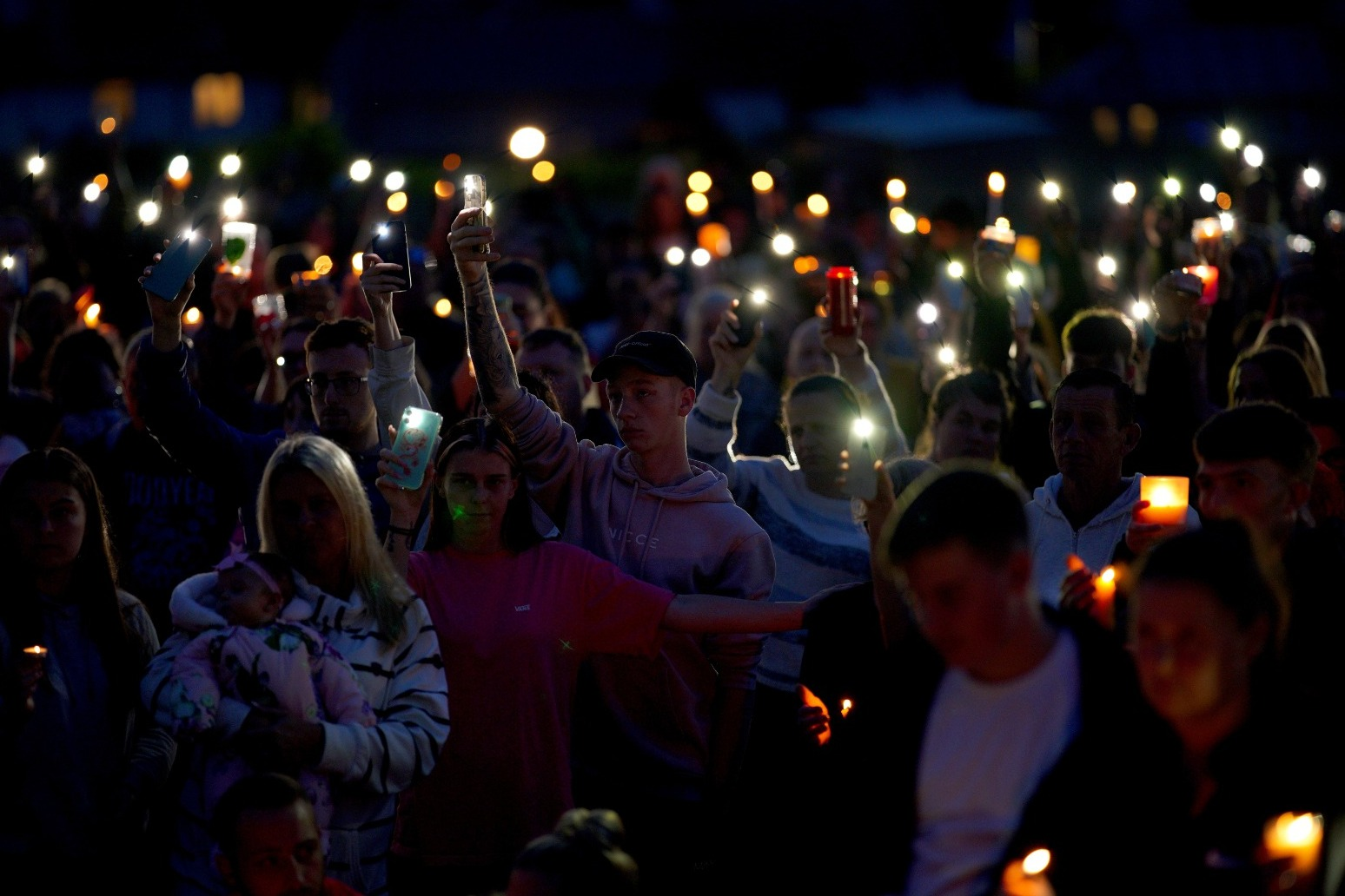 Large Vigil for Plymouth Shooting Victims