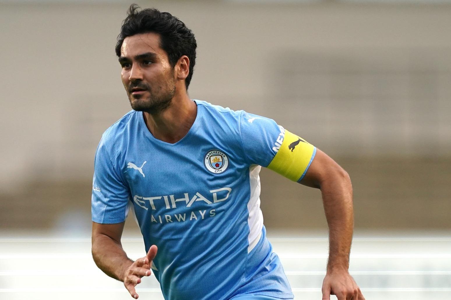 Manchester City to assess Ilkay Gundogan's shoulder injury on Monday