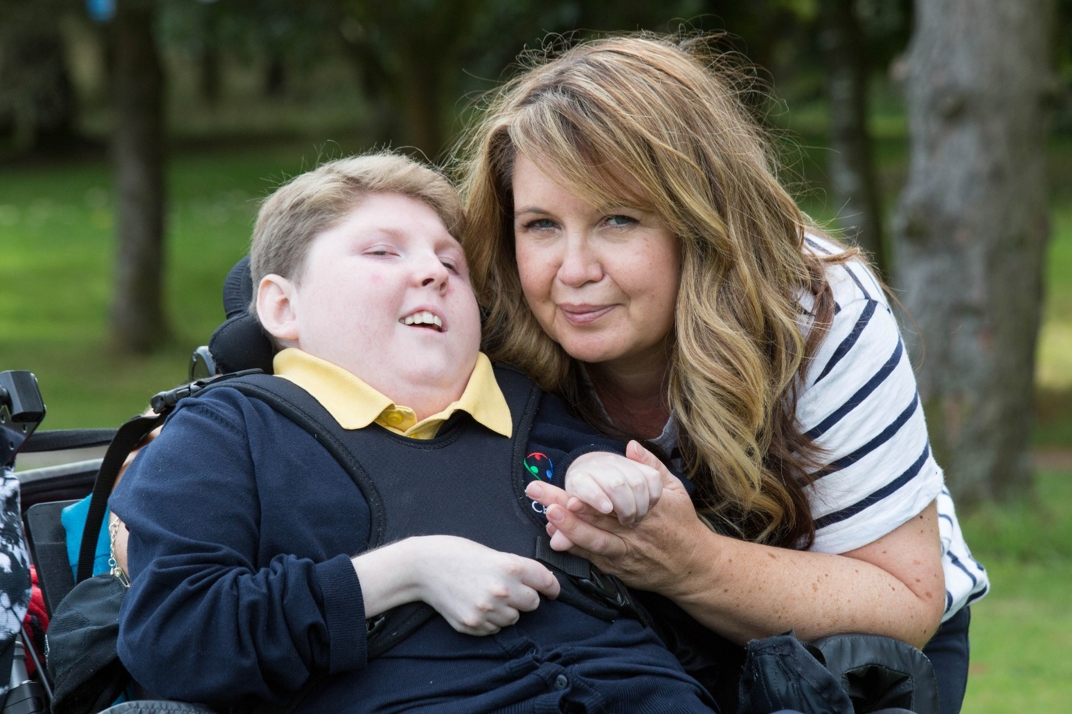 Mother of disabled 13-year-old says: 'Vaccine will let him experience life'