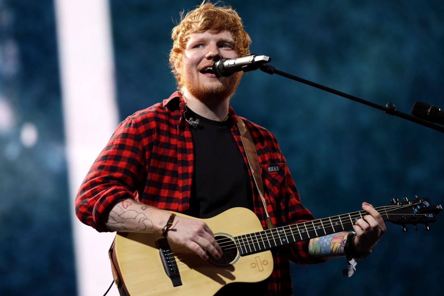 Ed Sheeran's Bad Habits gives him a new chart record