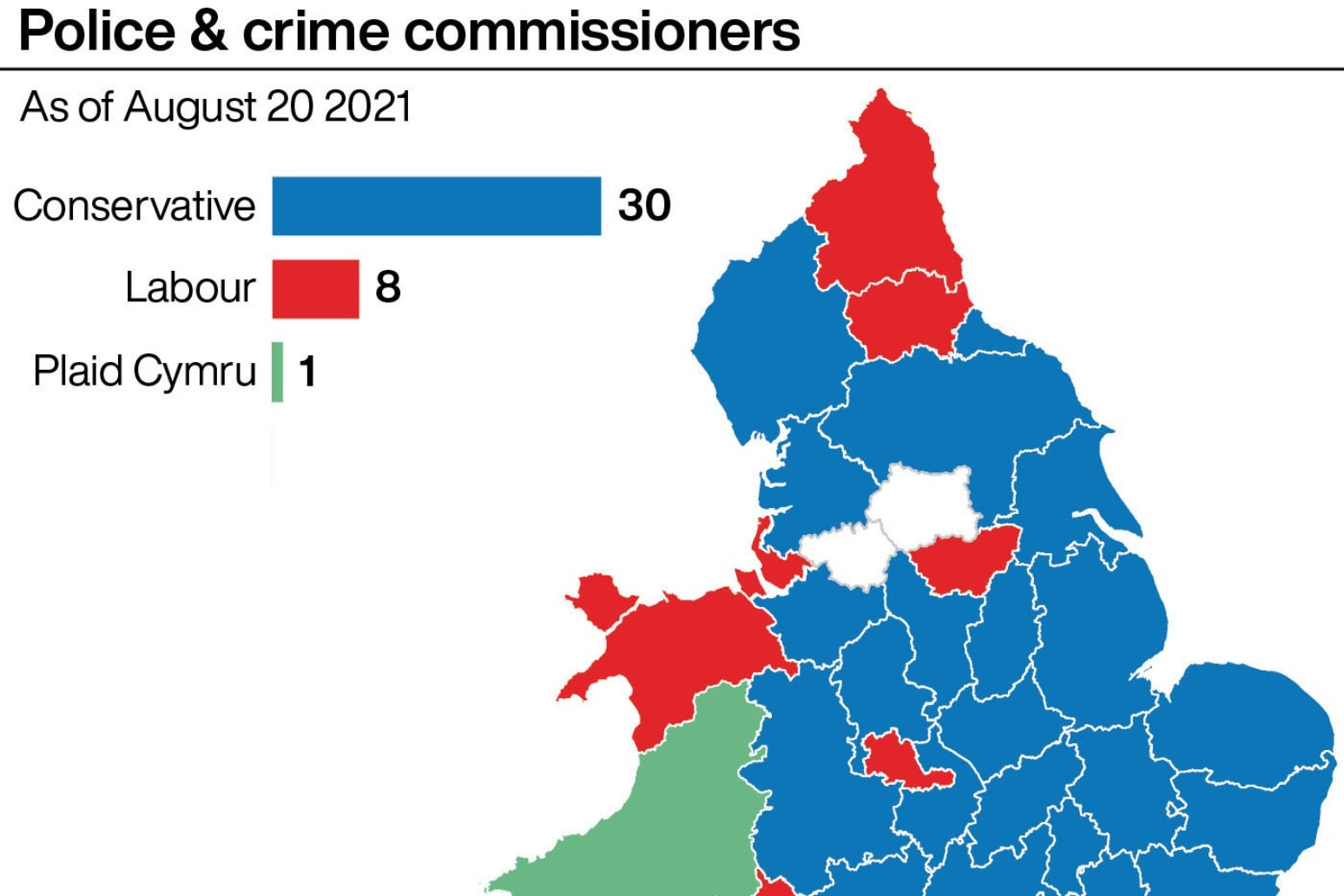 Conservative candidate wins Wiltshire police and crime commissioner election