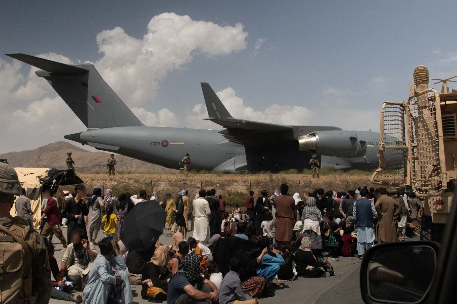 UK nationals told to stay away from Kabul airport over terrorism threat