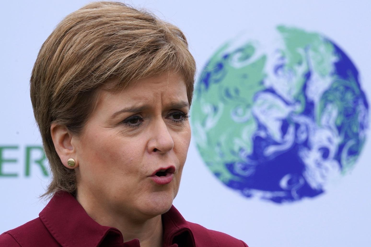 Nicola Sturgeon launches new green jobs academy