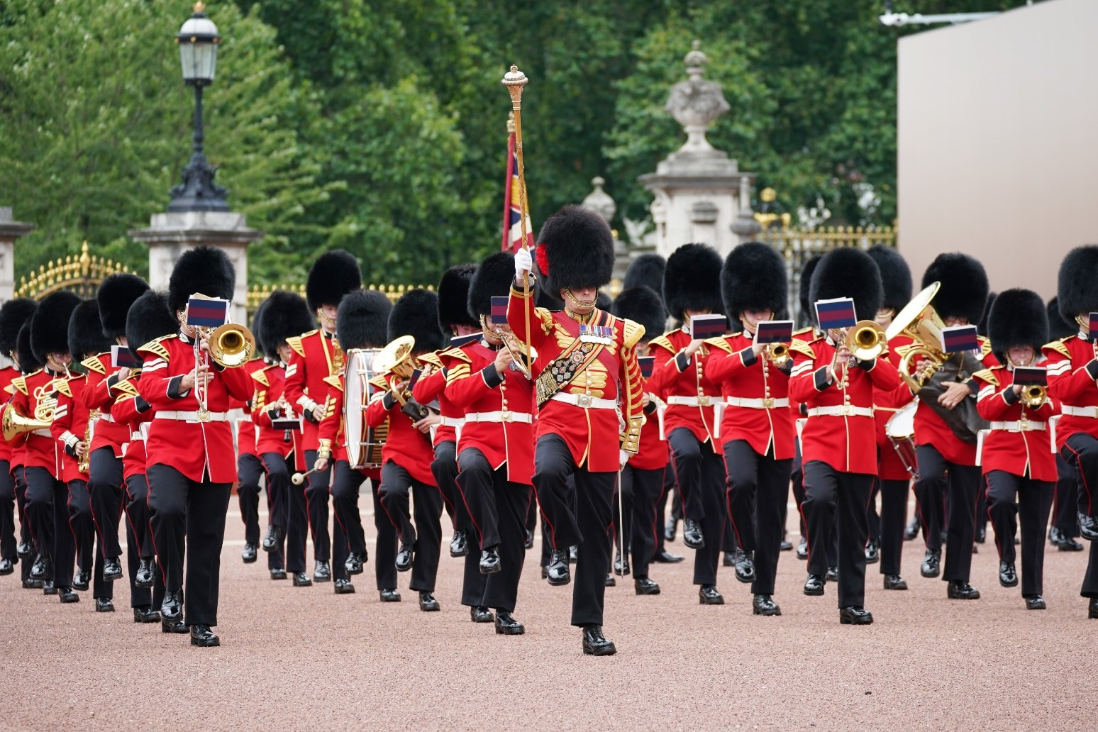 Changing the Guard ceremony returns to Buckingham Palace