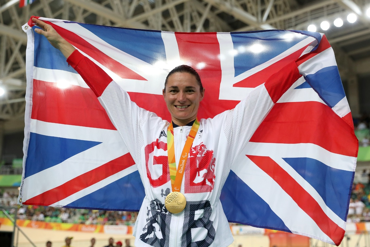 Sarah Storey excited by chance to become Britain's most successful Paralympian