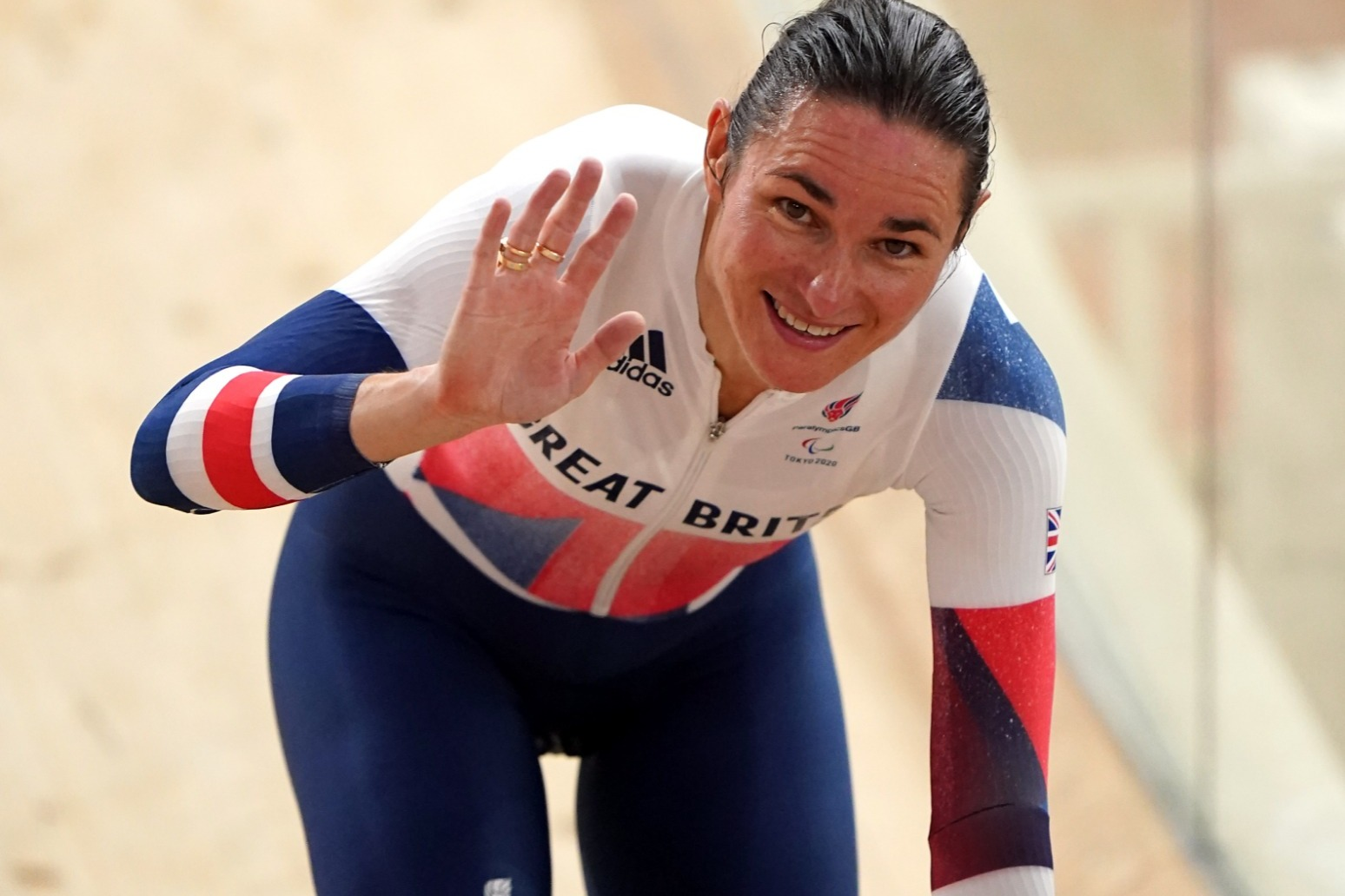 Sarah Storey storms to Great Britain's first gold of the Tokyo Paralympics