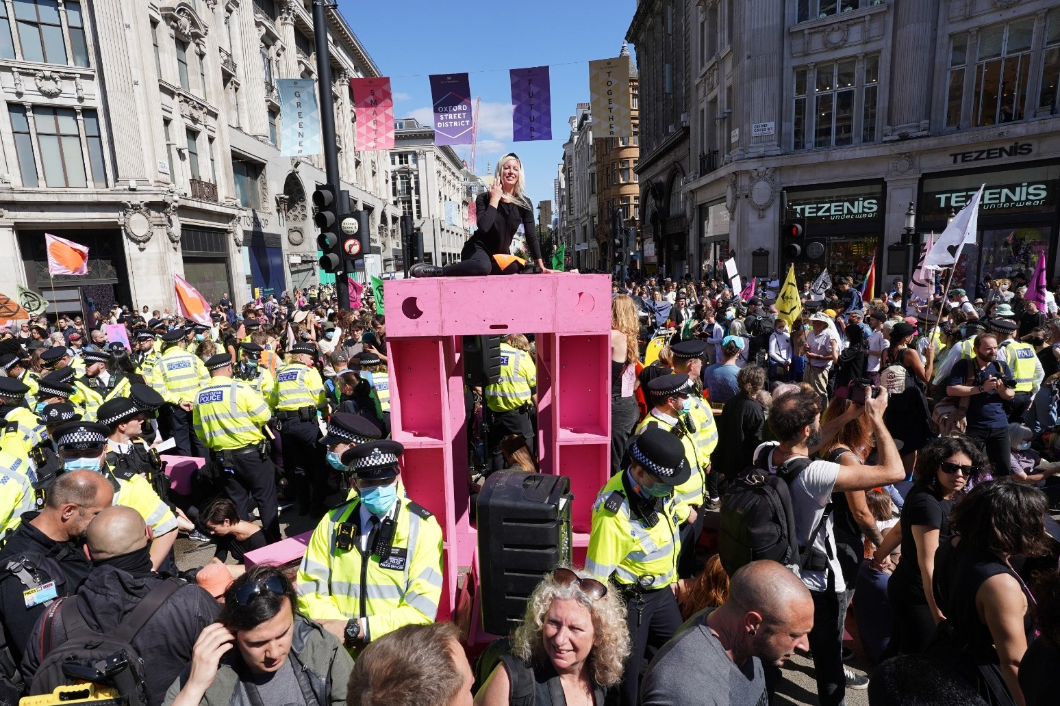 Activists claim Extinction Rebellion sees surge in support after IPCC report
