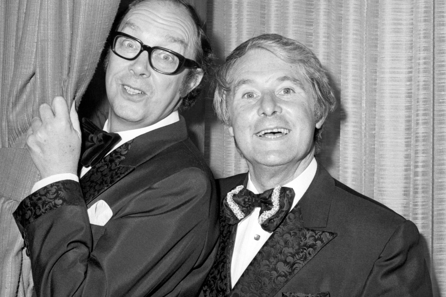 Morecambe and Wise found Monty Python boring