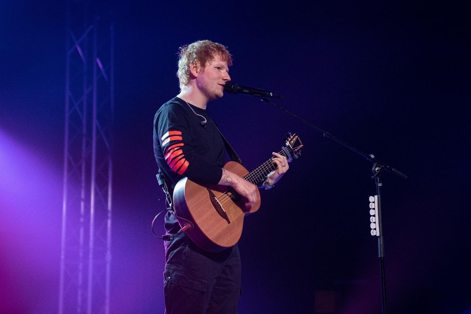 Ed Sheeran closes Paris leg of star-studded Global Citizen Live event