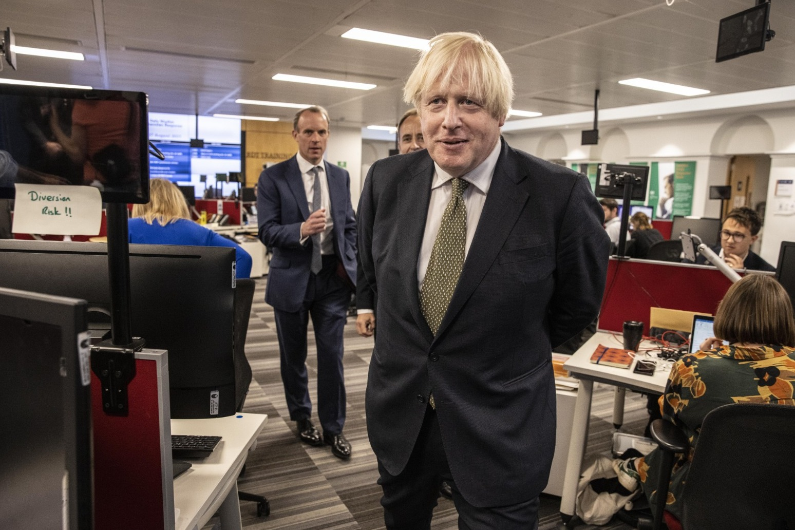Boris Johnson lost in admiration for troops returning from Afghanistan thumbnail
