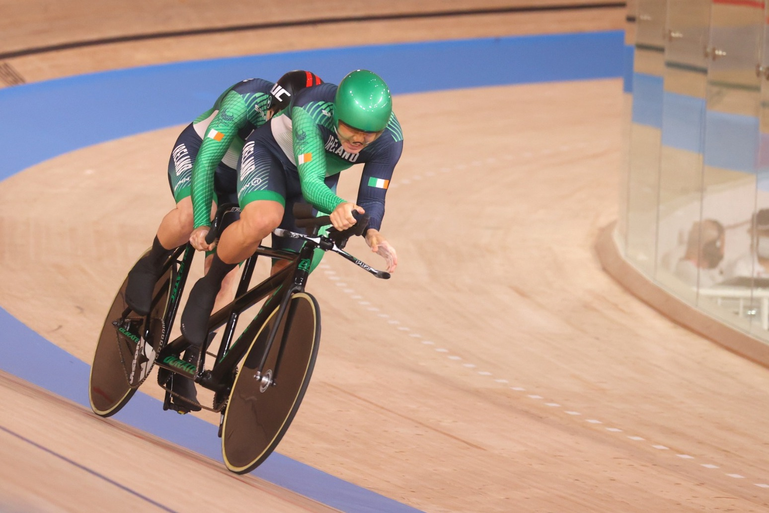 Gold runs in the Fachie family as husband and wife claim wins in Tokyo