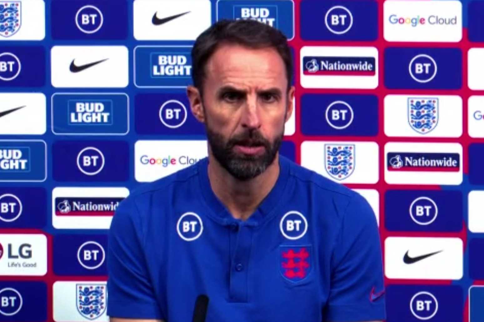 Southgate: England would have to win the World Cup to get over Euro 2020