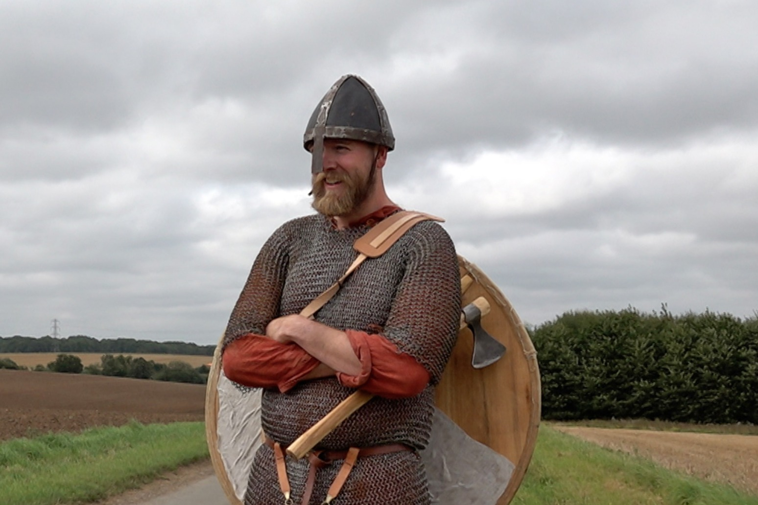 Fundraising 'history geek' to run Viking march route in full fighting kit