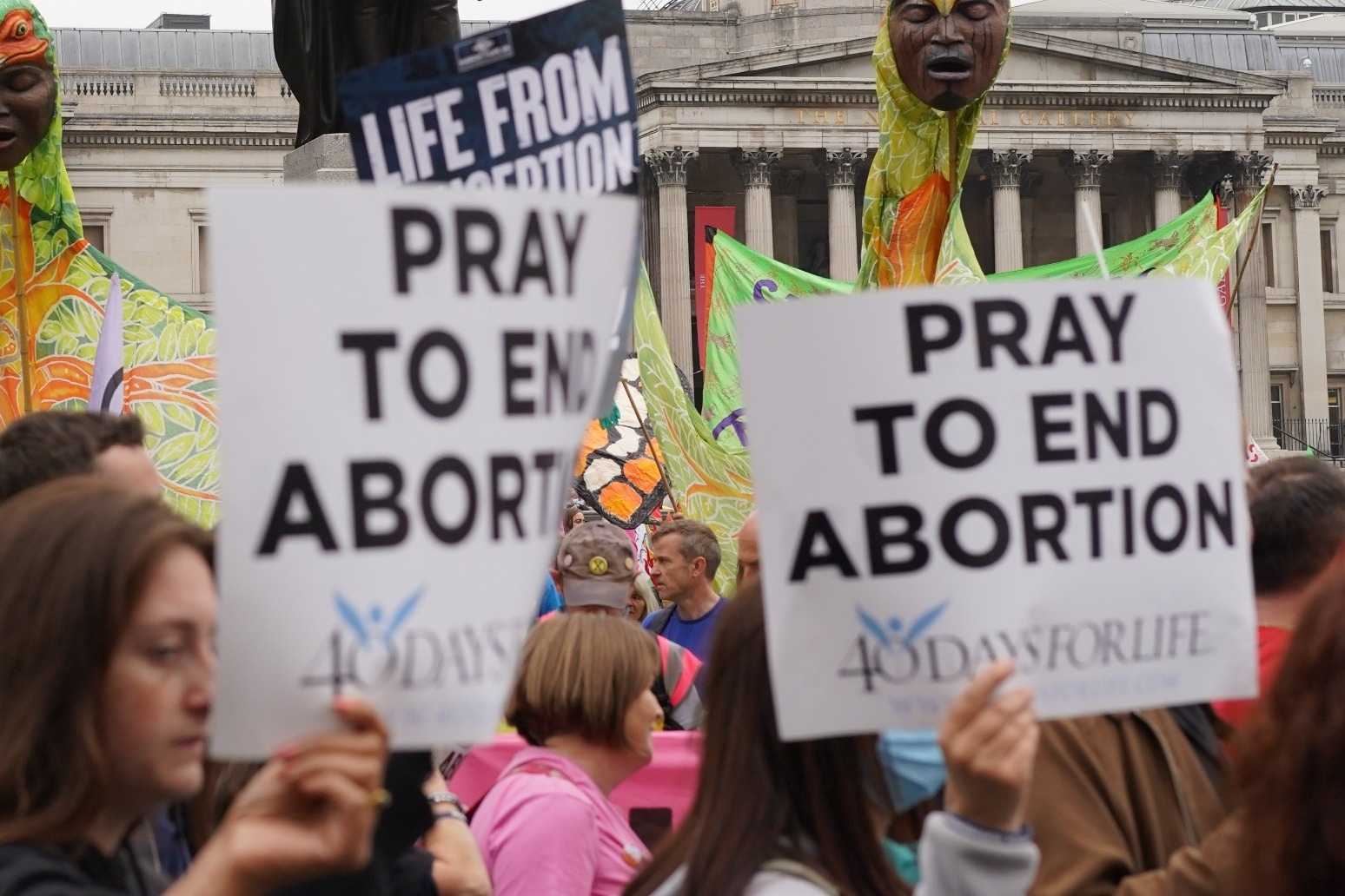 Justice Department sues Texas over six week abortion ban thumbnail
