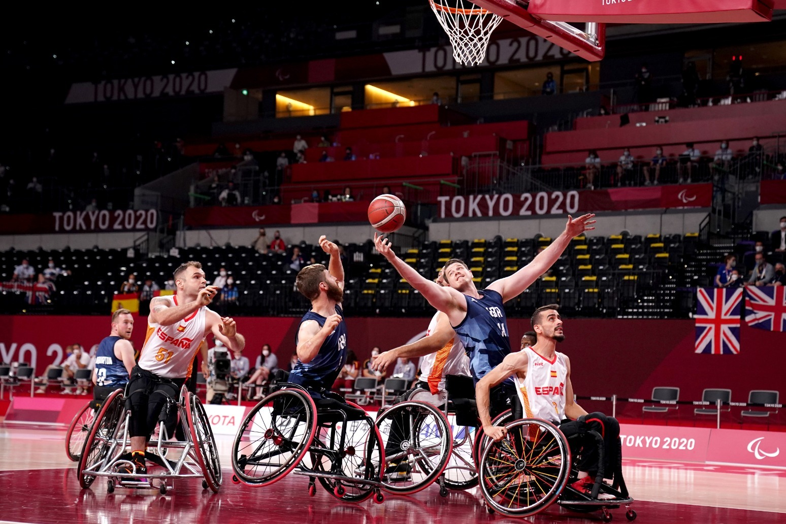Great Britain claim wheelchair basketball bronze on final day of Tokyo Games