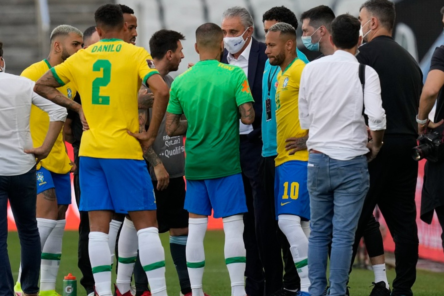 Brazil-Argentina game called off over claims England-based players broke quarantine rules