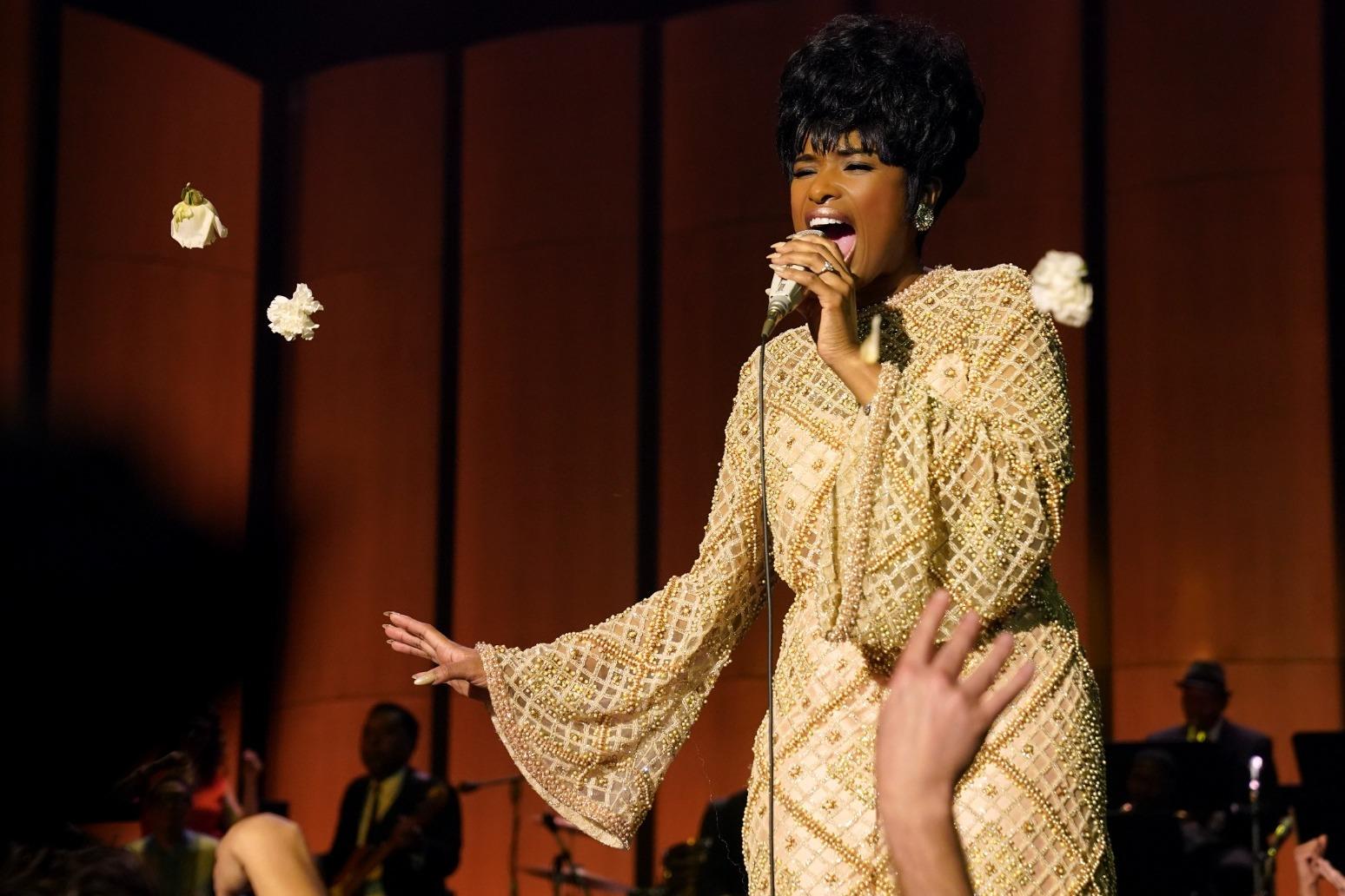 Jennifer Hudson on how Sir Tom Jones helped her embody Aretha Franklin