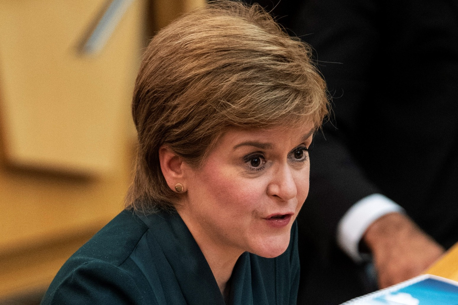 First Minister of Scotland Nicola Sturgeon accuses of Johnson of an 'absence of basic humanity' if he cuts benefits