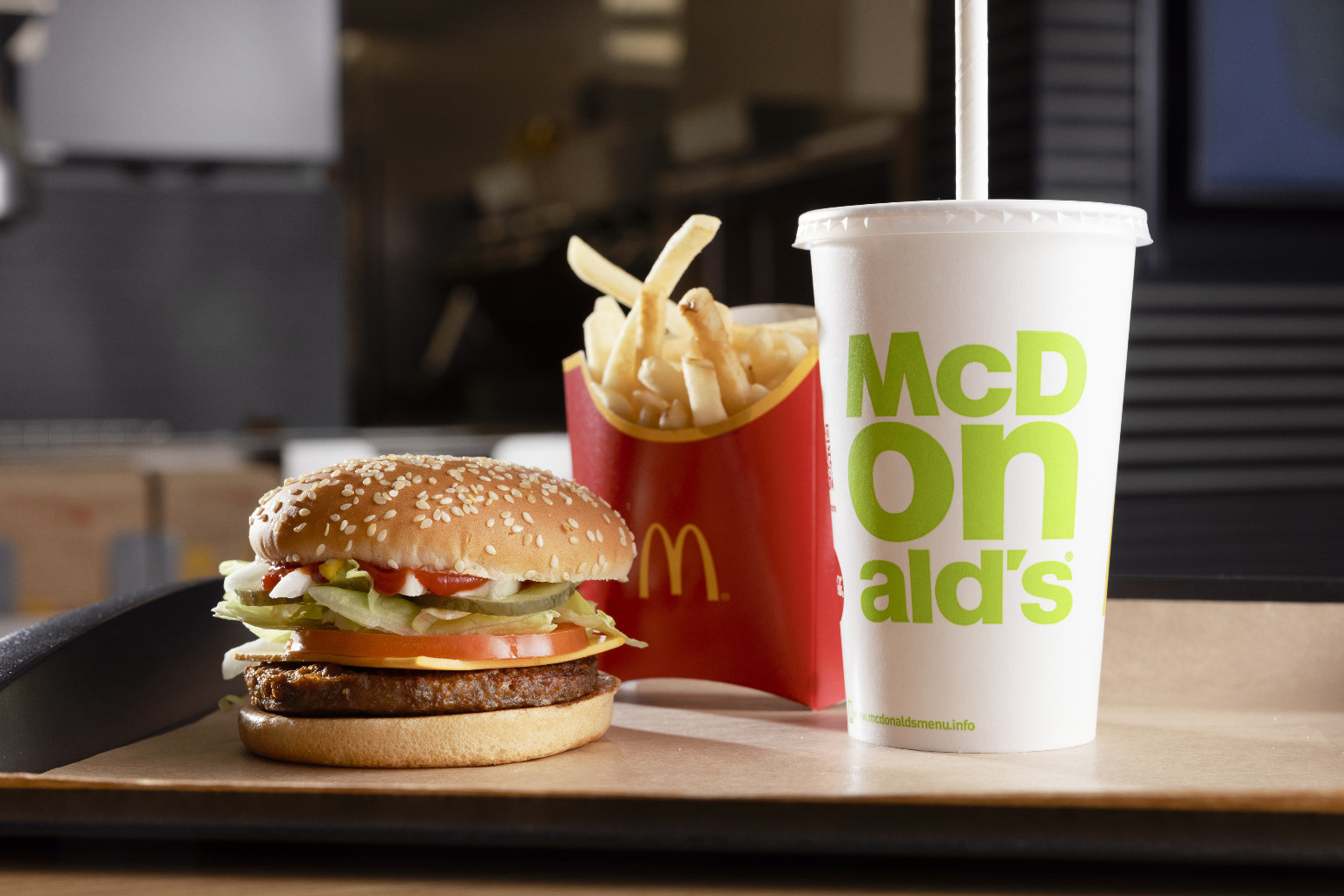 McDonald's sets net-zero emissions target for UK business by 2040