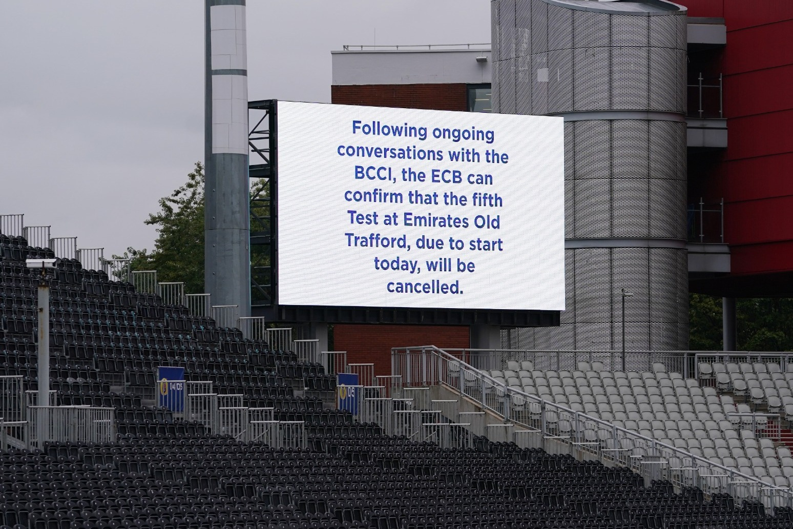 The ECB is set to ask the ICC to adjudicate if abandoned Test cannot be rearranged