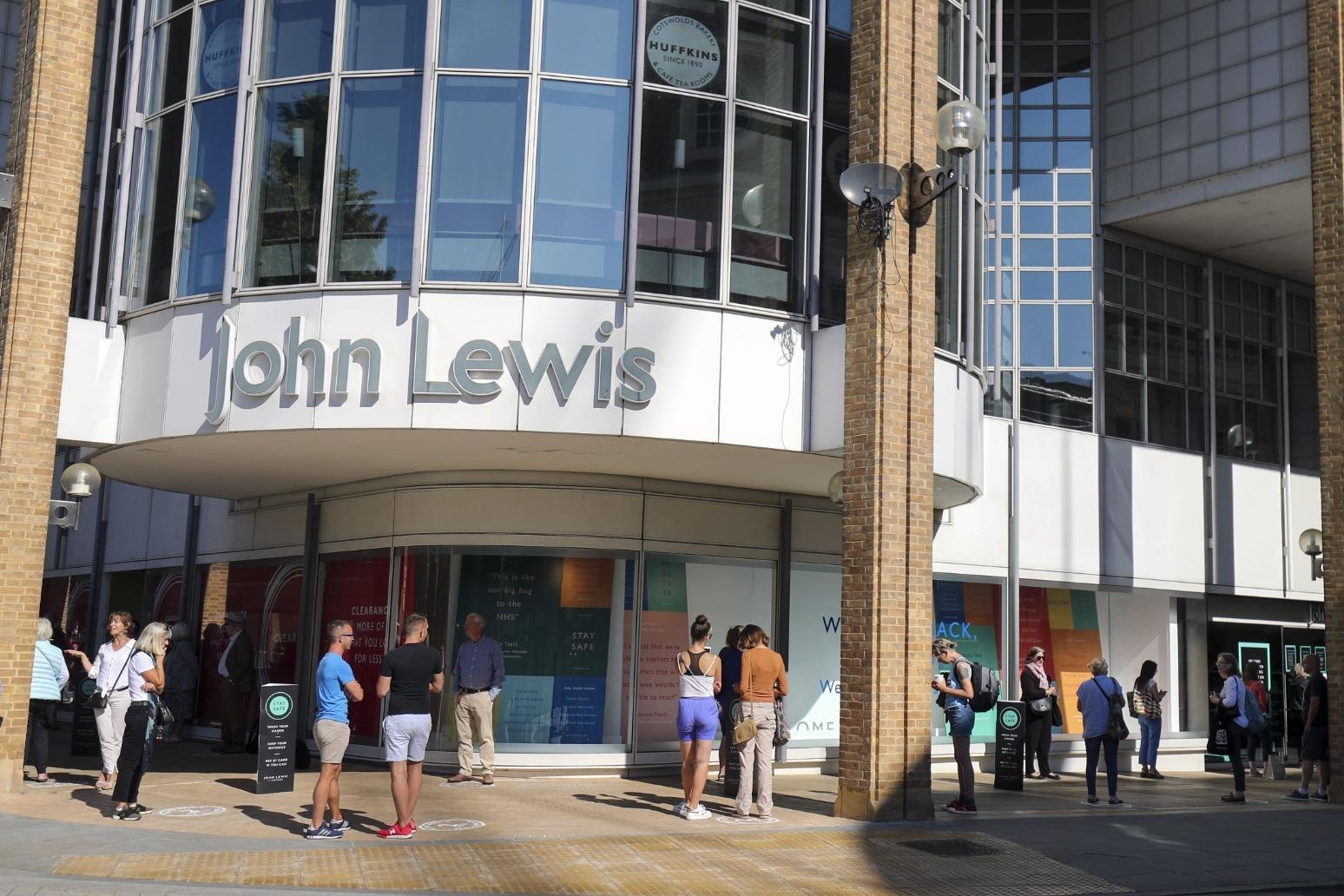 John Lewis Partnership narrows losses despite £54m hit from redundancies