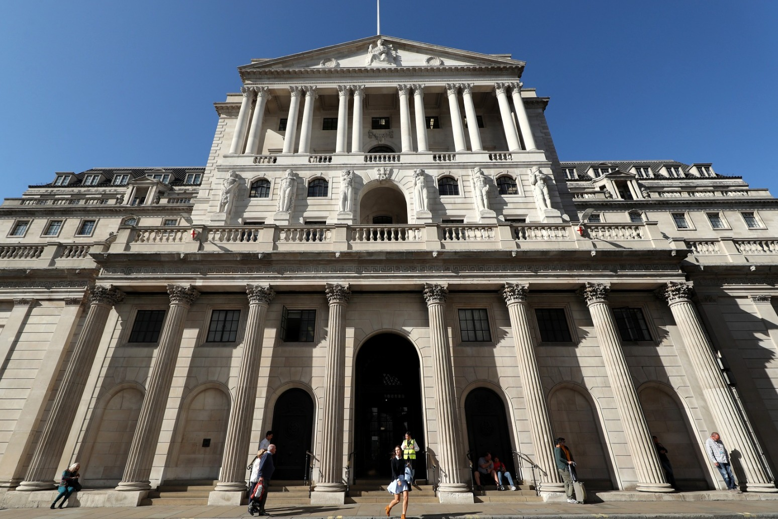 Bank set to sit tight on rates despite record rise in inflation.