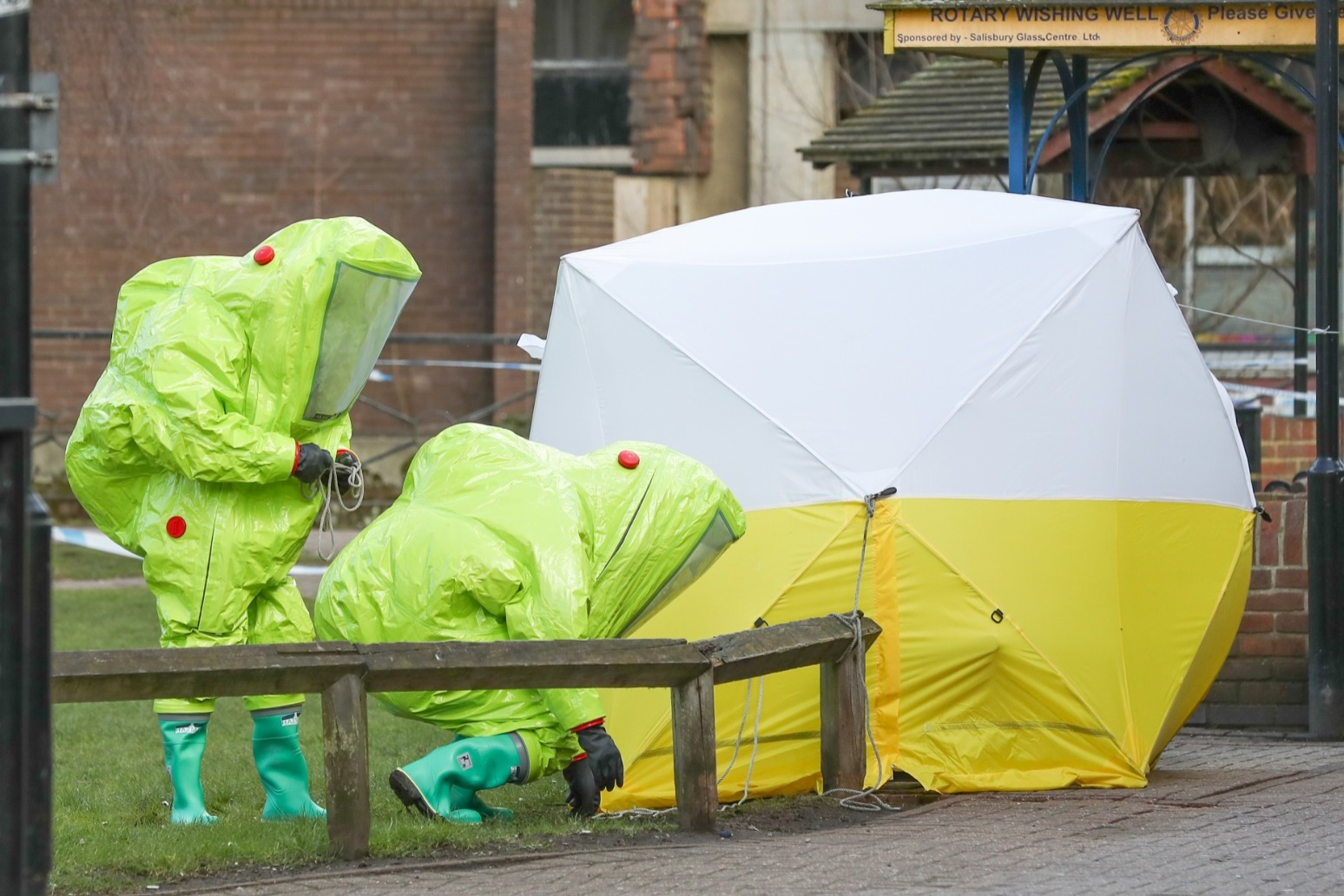 Third Russian spy accused of attempted murder over Salisbury Novichok attack