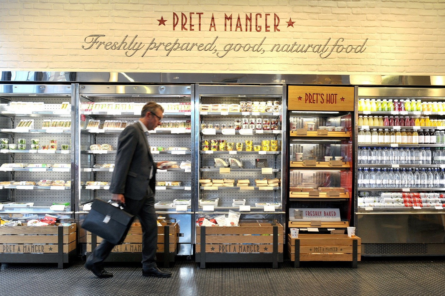 Pret a Manger to open 200 more UK shops in next two years